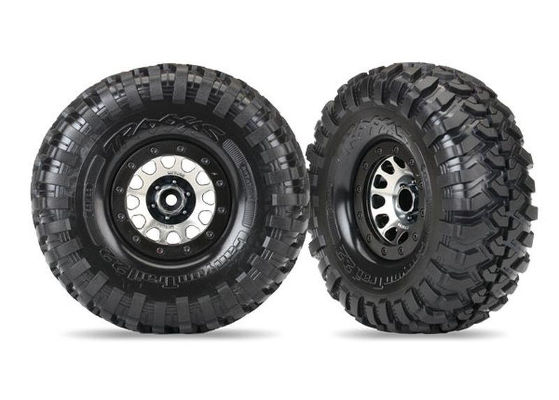 Reifen auf Felge Canyon Trail 2.2 auf Method 105 black chro