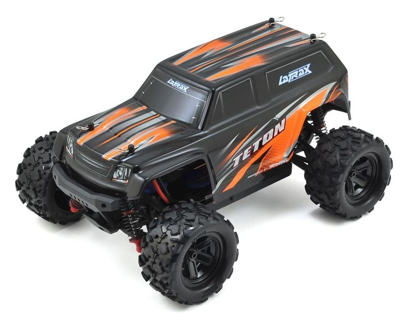 LATRAX Teton 4x4 orange RTR +12V-Lader+Akku