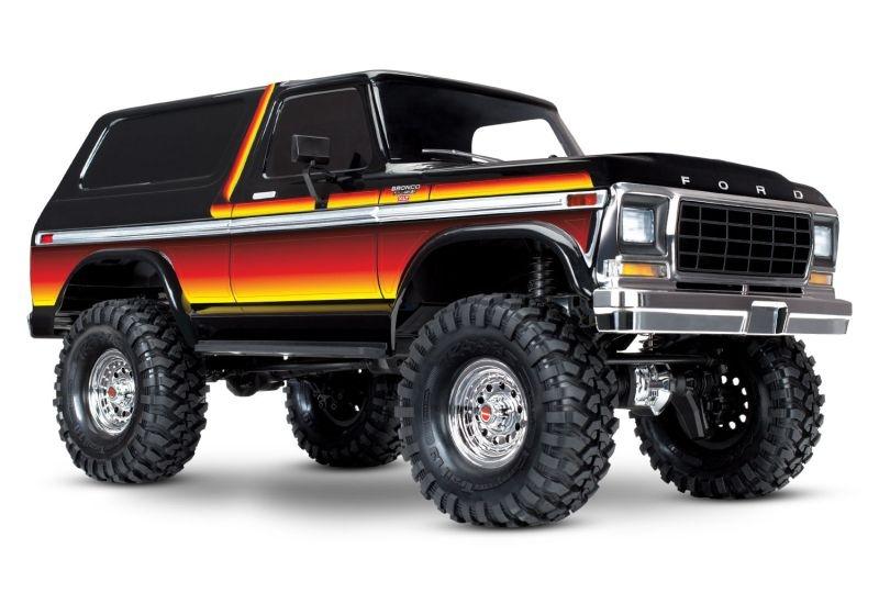 TRAXXAS TRX-4 Ford Bronco sunset 4x4 RTR ohne Akku/Lader
