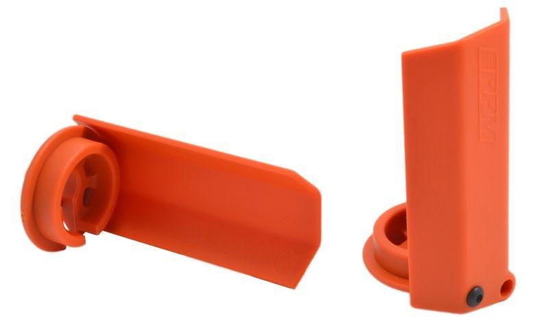 Dämpferstangen-Schützer(2)  orange