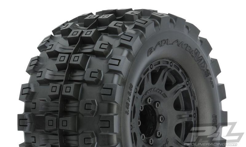 ProLine Badlands MX38 BELTED auf Raid 8x32 Felge schwarz