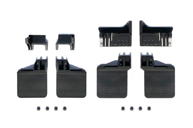 TRX4 POLYURETHANE ft / rr SKID PLATE UPGRADE KIT  -16 PCS