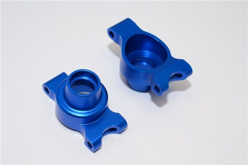 ALLOY REAR KNUCKLE ARM SET - 1PR blue