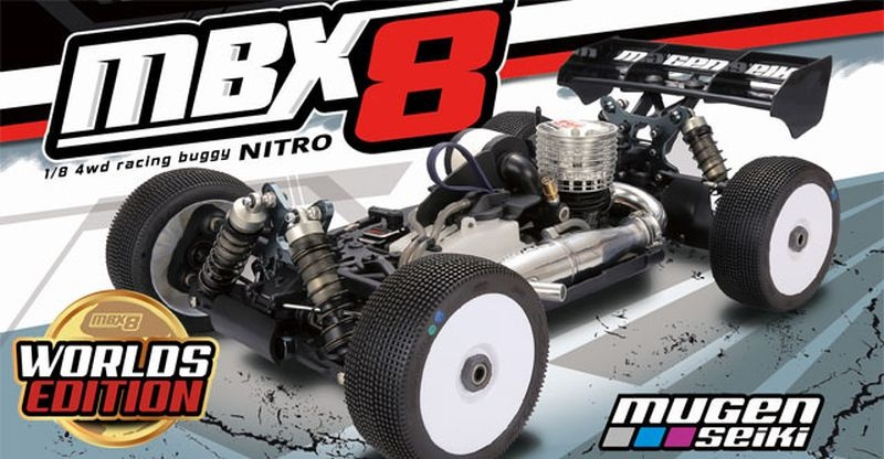MBX-8 1/8 4WD OFF-Road Buggy Worlds Edition
