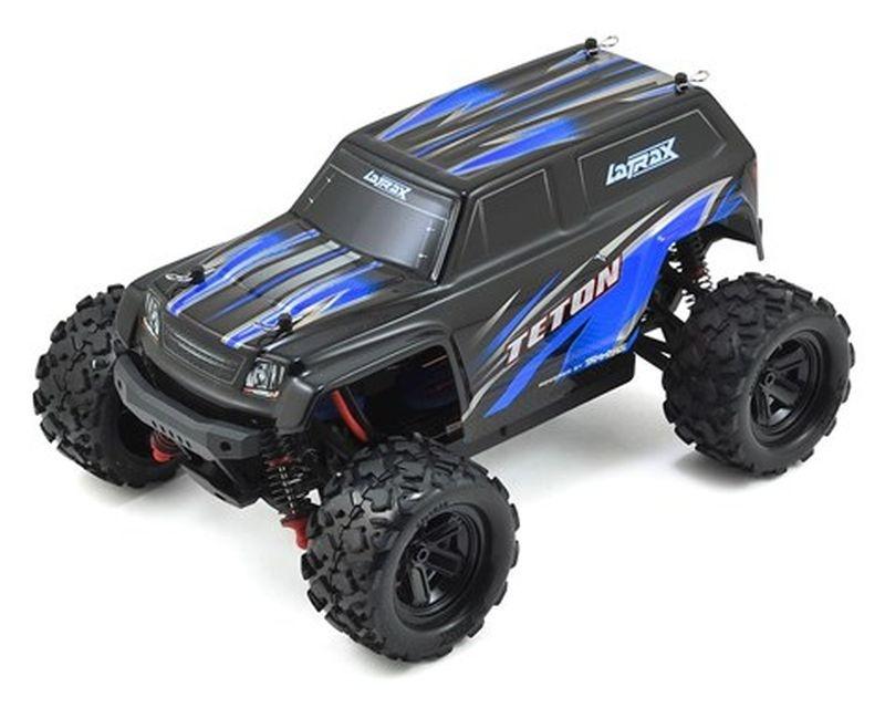 LATRAX Teton 4x4 blau RTR +12V-Lader+Akku