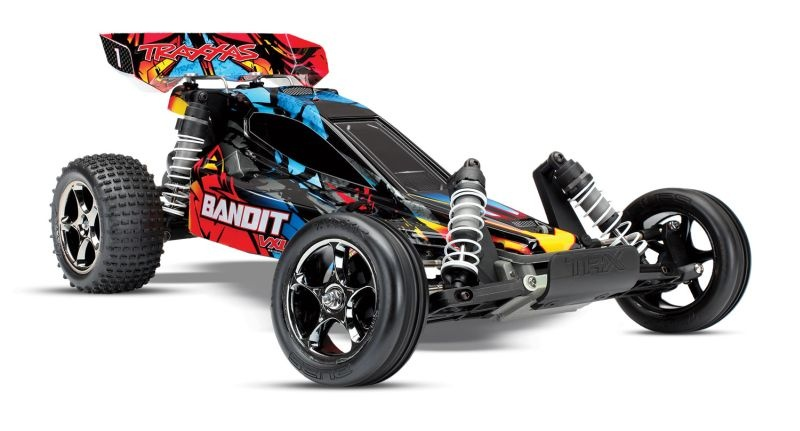 SLVR TRAXXAS Bandit  VXL BL 2.4GHz Rock-and-Roll