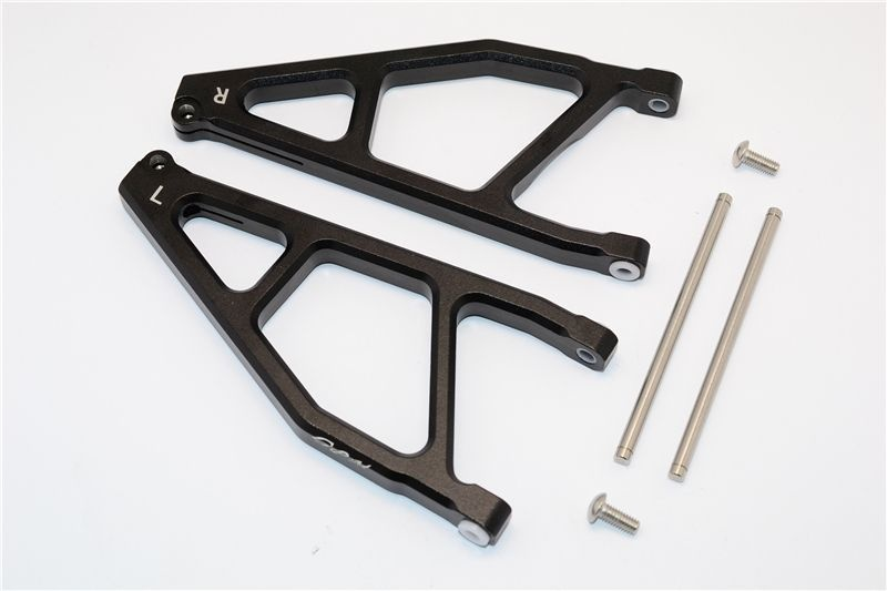 ALUMINUM REAR UPPER ARMS -1PR black