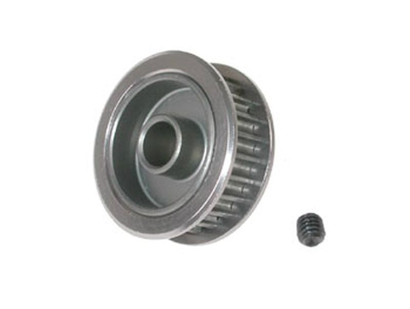 Pulley 24T alu H-anodised (SER909255)