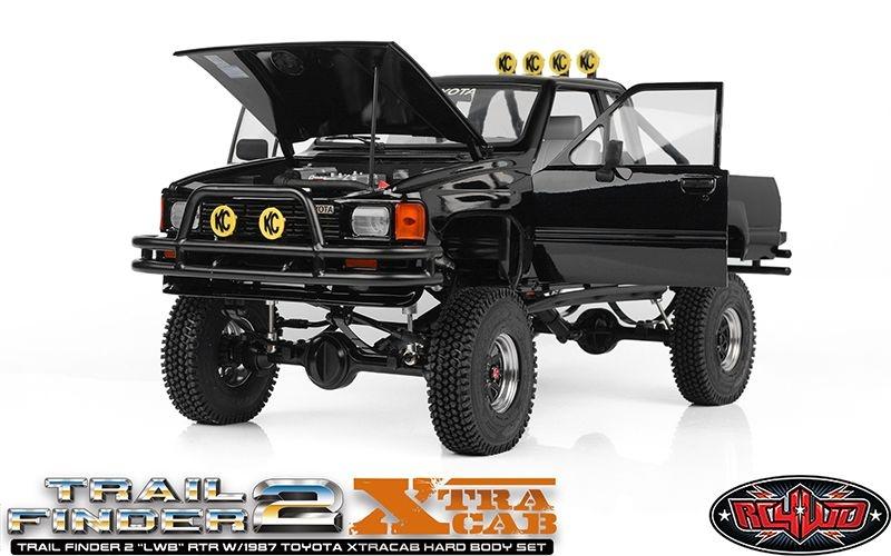 RC4WD Trail Finder 2 LWB with 1987 Toyota XTRAcab Bodyset