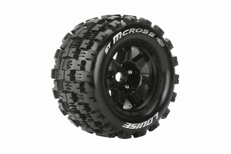 MFT ST 3.8 Mcross 1/8 Sport   Felge schwarz
