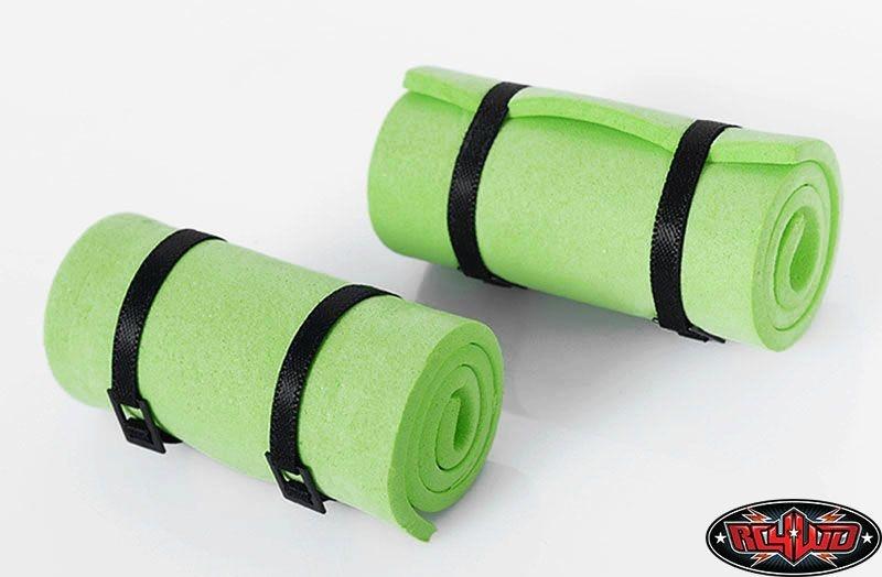 1/10 Sleeping Mat w/Straps (Green)