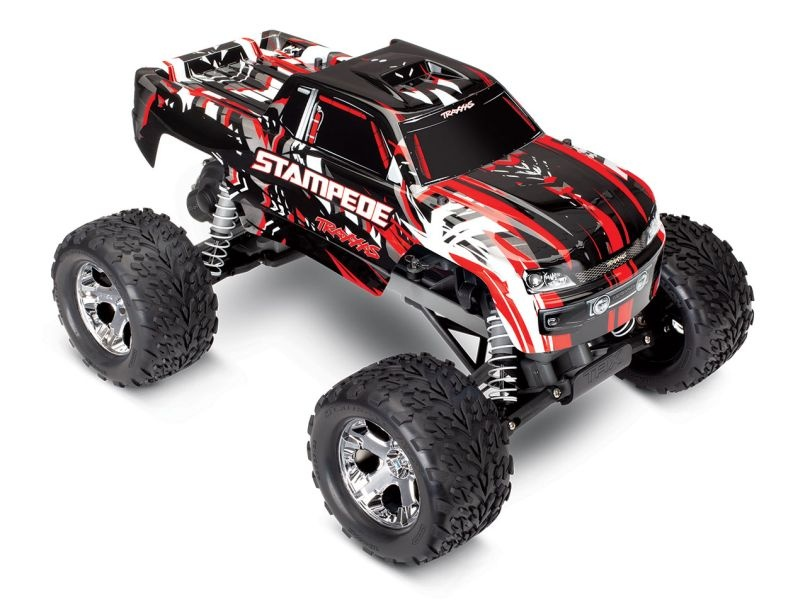 TRAXXAS Stampede rot RTR ohne Akku/Lader