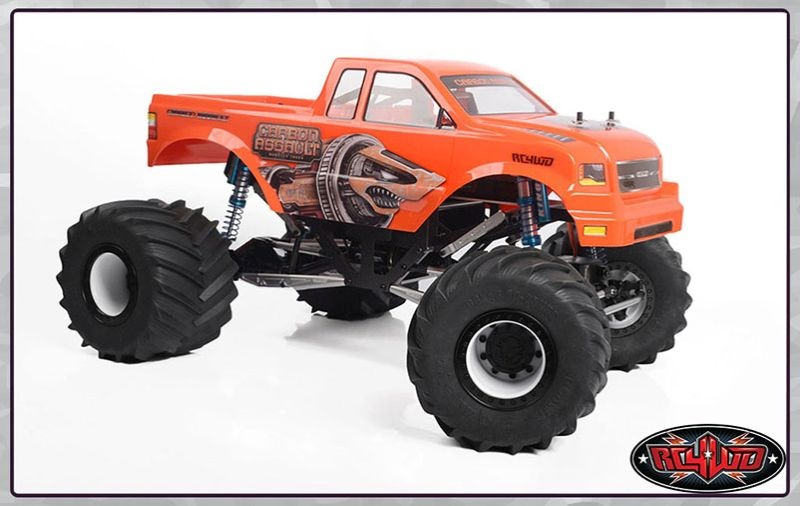 RC4WD Carbon Assault 1/10th Monster Truck