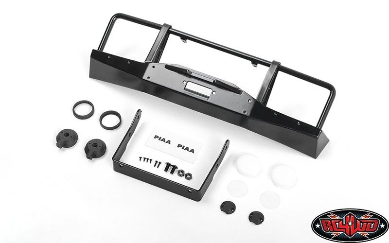 Oxer Metal Front Winch Bumper w/ Lights