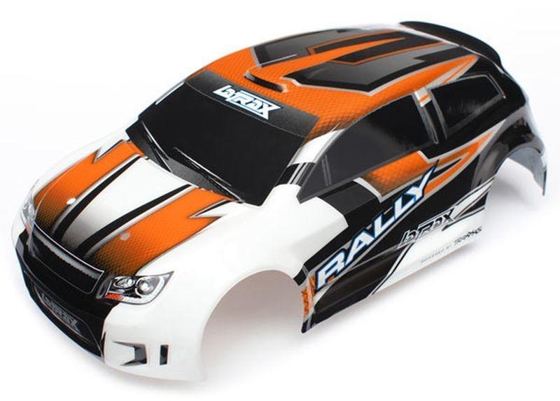 Karo, LaTrax 1/18 Rally, orange (lackiert + Decals)