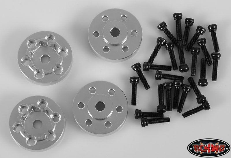 OEM Steel 1.9 Stock Beadlock Wheel Hexes