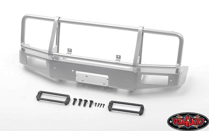 Trifecta Front Bumper for Capo Racing Samurai  (Silver)
