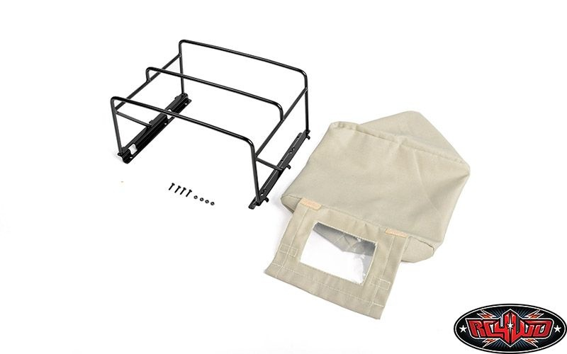 Steel Tube Bed Cage w/ Soft Top for RC4WD Gelande II (Tan)