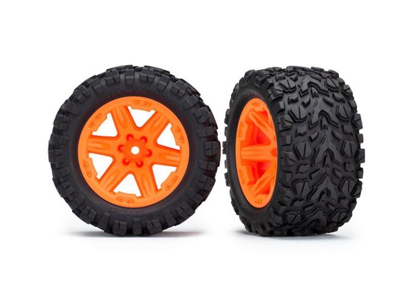 Reifen auf Felge 2.8 RXT orange / Talon Extreme (2) (TSM rat