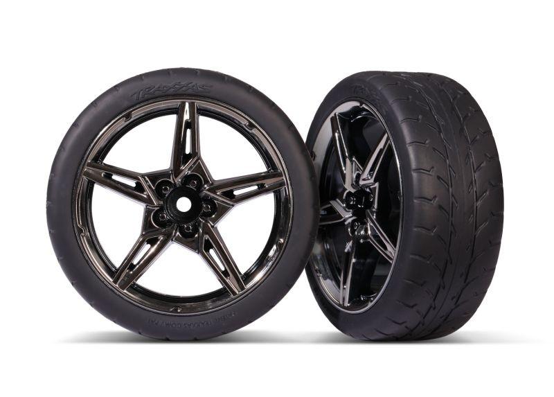 Response-Reifen auf Felge vo 1.9 Split-Spoke schwarz/chrome