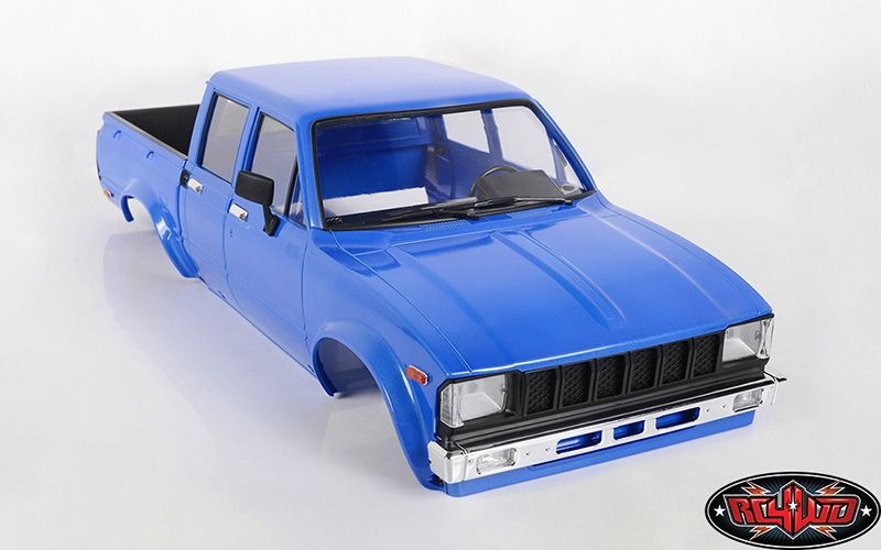 RC4WD Mojave II Four Door Complete Body Set (Blue)