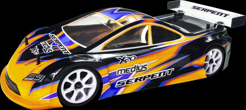 Serpent Medius X20 21 1/10 4WD MID Carbon EP Touring Car