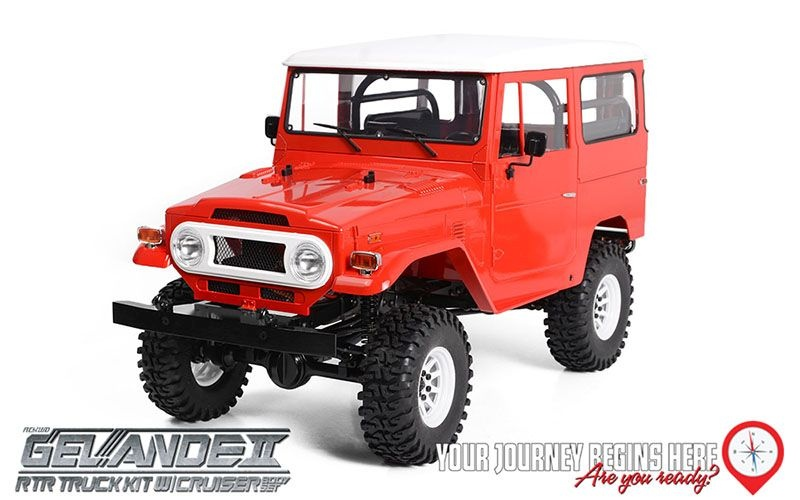 RC4WD Gelande II RTR Truck w/Cruiser Body Set