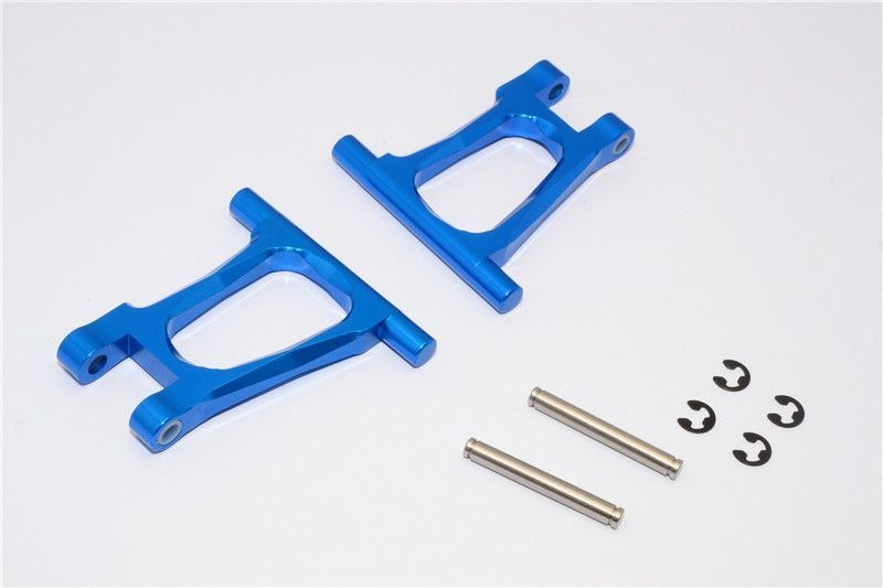 ALLOY REAR UPPER ARM SET - 1PR blue
