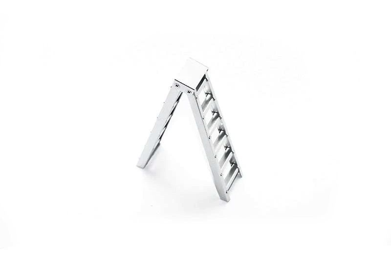 SCALE ACCESSORIES: ALU SHORT STEP LADDER FOR CRAWLERS -1PC