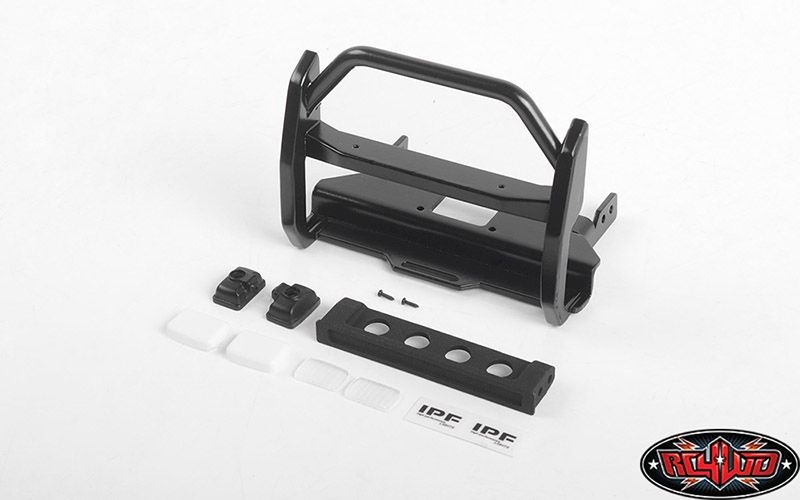 Wild Front Bumper w/ IPF Lights for Traxxas TRX-4 Mercedes-B