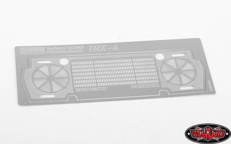 Radiator Guard for Traxxas TRX-4 79 Bronco Ranger XLT