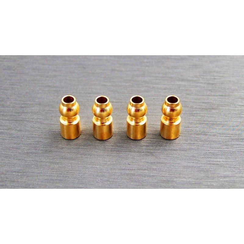 SAMIX SCX10-3 brass 5.8mm upper suspension ball