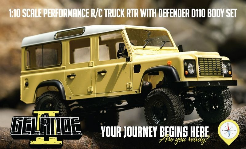 RC4WD Gelande II LWB RTR w//D110 ?Body Set
