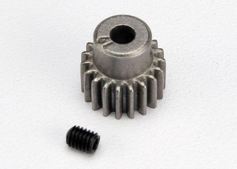 Motorritzel 48dp, 19 Zähne