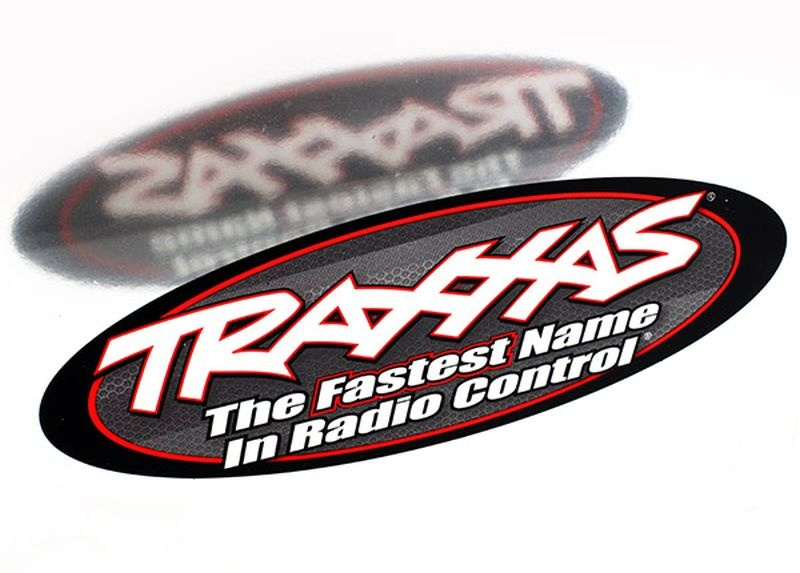 TRAXXAS 9 OVAL DECAL 2 SIDED