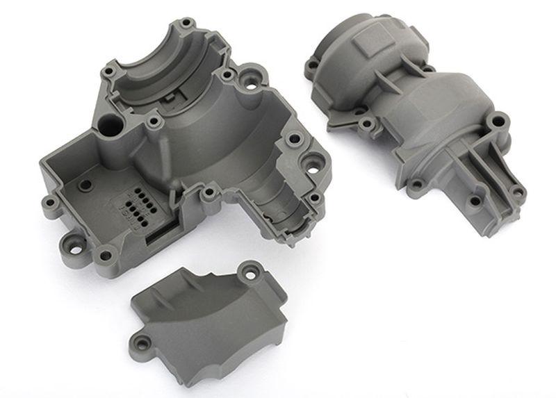 Getriebe-Gehäuse (inkl. oben, unten + Abdeckung)