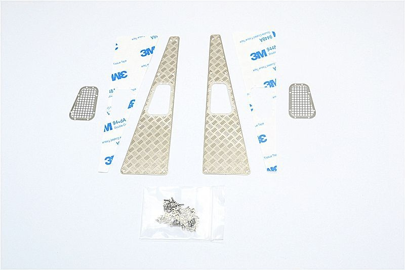 SCALE Acs stnl-steel SLIP prf trd&FENDER VENT TRX 4-81PCS