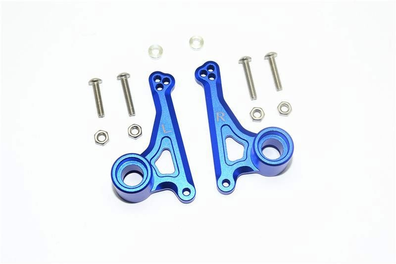 ALUMINUM FRONT ROCKER ARM SET -12PC SET blue