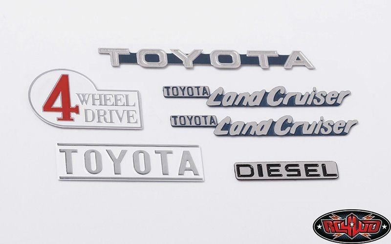 Cruiser Body Emblem Set