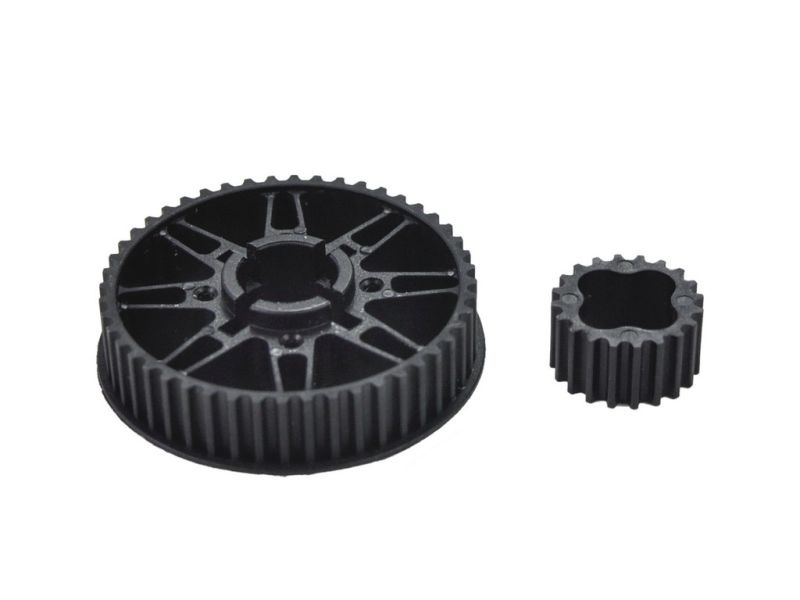 Pulley set rear (2) S989 (SER903722)