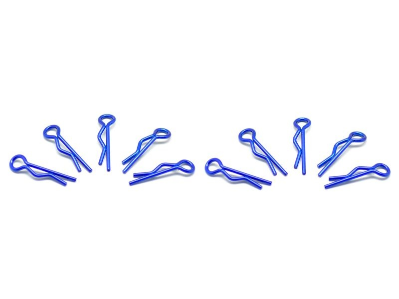small body clip 1/10 - metallic blue (10)