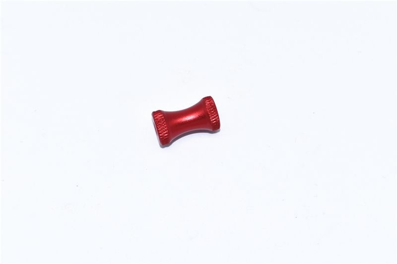 ALUMINUM COLLAR FOR REAR CHASSIS BRACE -1PC SET red