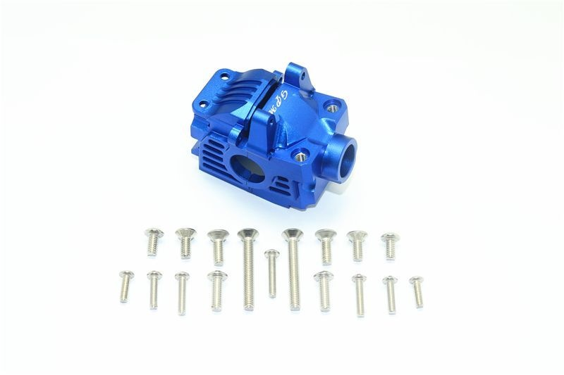 ALUMINUM FRONT GEAR BOX -19PC SET blue