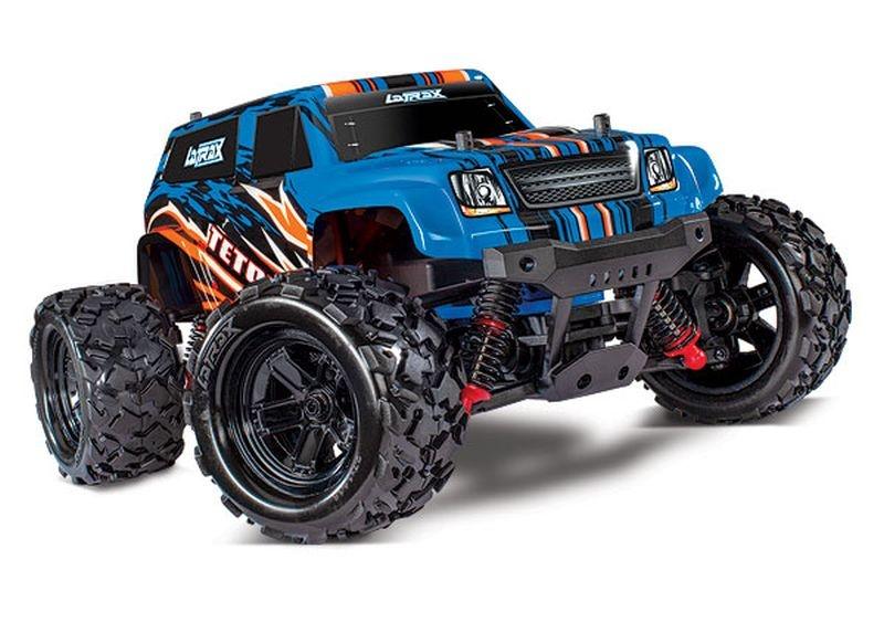 LATRAX Teton 4x4 blauX RTR +12V-Lader+Akku