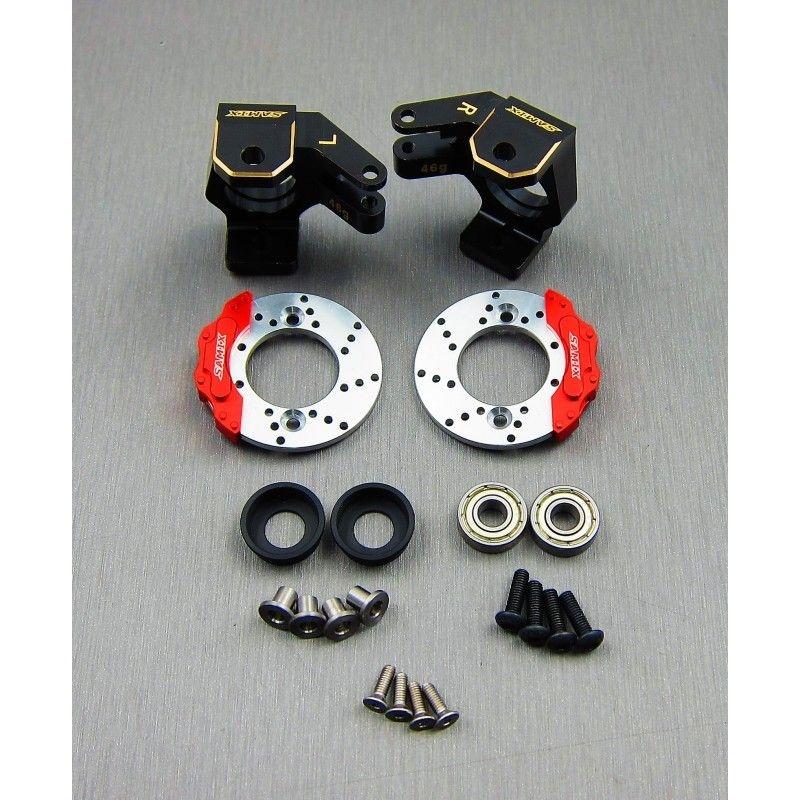 SAMIX SCX10-2 brass heavy steering knuckle