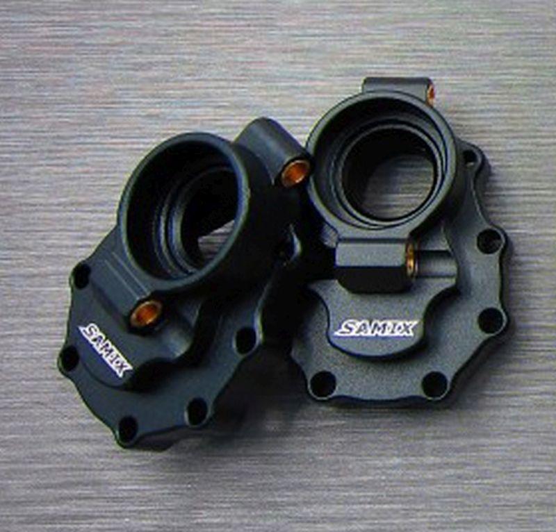 SAMIX TRX-4 alum. black rear portal driver housing