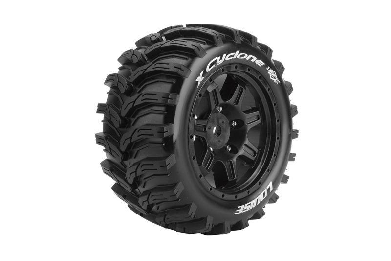 X-CYCLONE Sport-Reifen   Felge schwarz