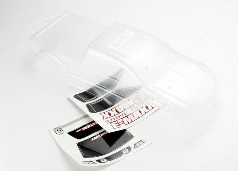 Karosserie E-MAXX unlackiert