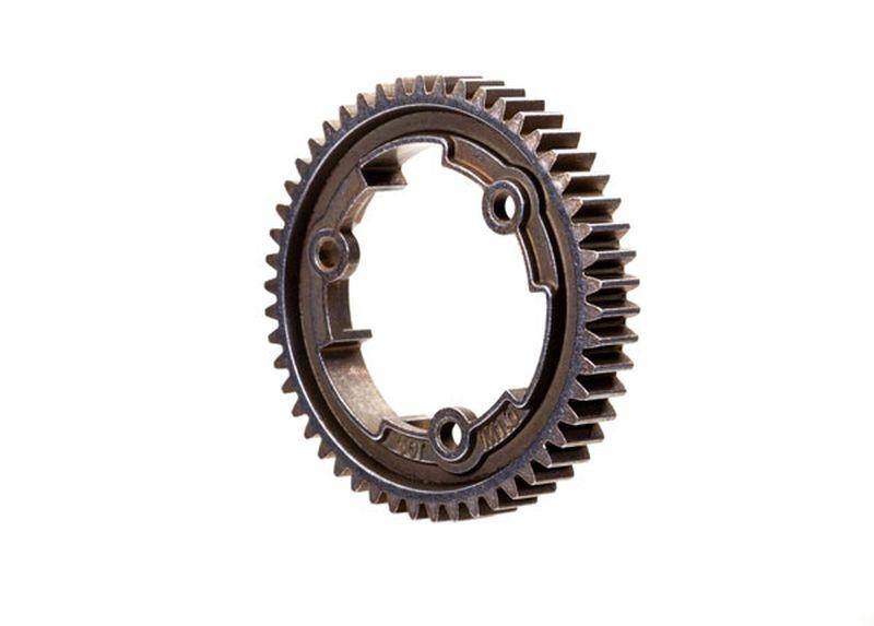 Spur gear, 50-tooth, steel breite Version (1.0 metric pitch)