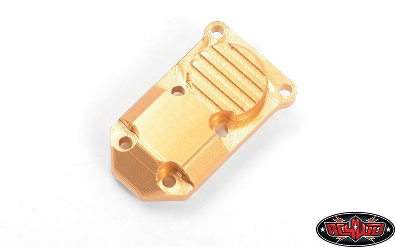 Micro Series Diff Cover for Axial SCX24 1/24 RTR (Gold)